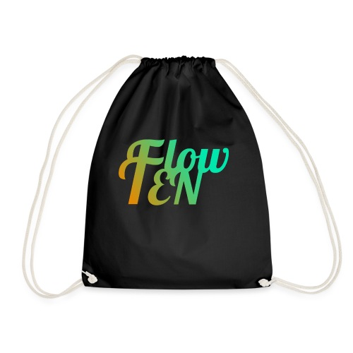 FlowTen Men's T-Shirt Beach Edition - Drawstring Bag