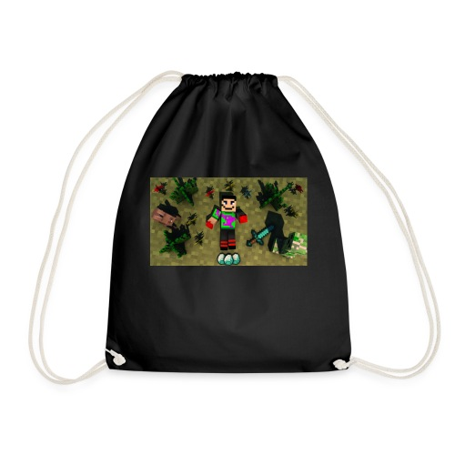 rebbeozelot19 Happy OcMalte01 T-Shirt - Drawstring Bag