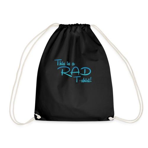 rövhål png - Drawstring Bag