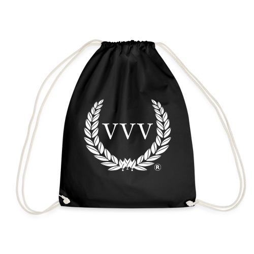 Red & White Team VVV (Large Logo) - Drawstring Bag