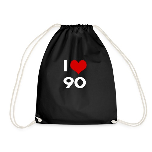 I love 90 - Sacca sportiva