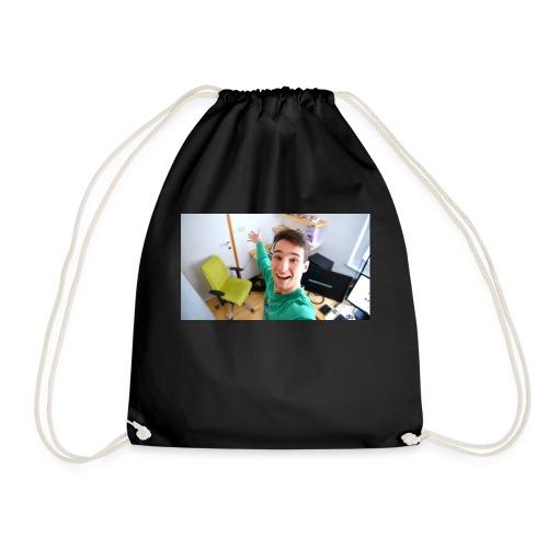 20506 2CWelcome - Drawstring Bag