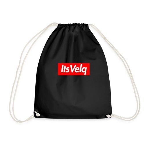 Velq Box Logo - Drawstring Bag