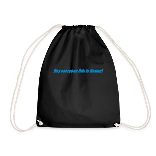 Rowan's intro!!1 - Drawstring Bag