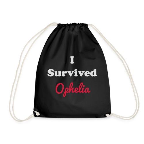 IsurvivedOpheliaWhitered - Drawstring Bag