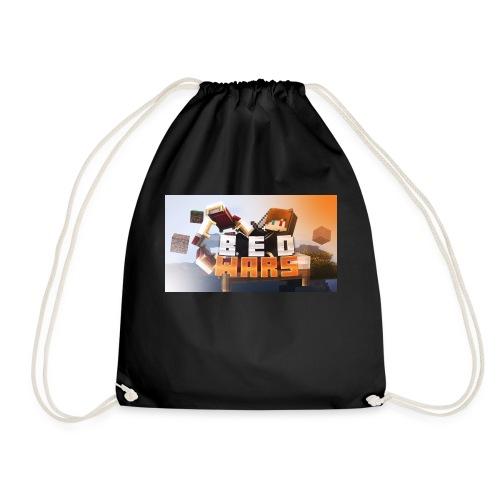 bedwars merch - Drawstring Bag