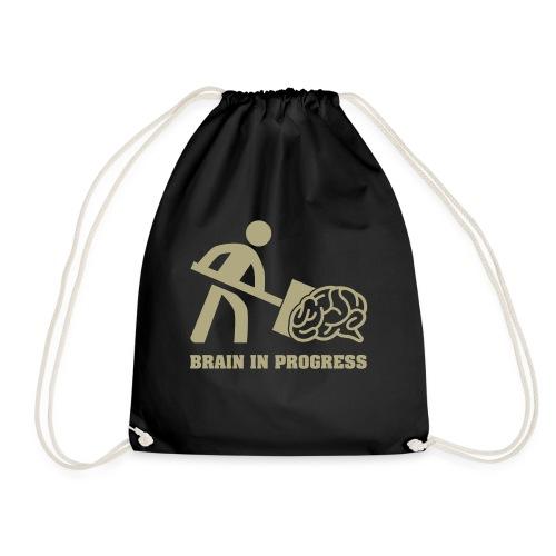 Brain in progress en or - Sac de sport léger