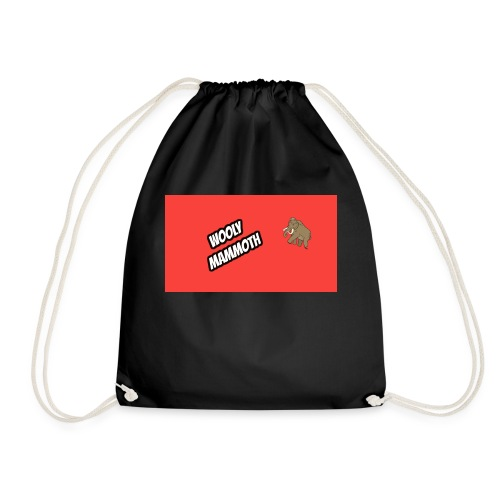 Wooly Mammoth accessories design - Drawstring Bag