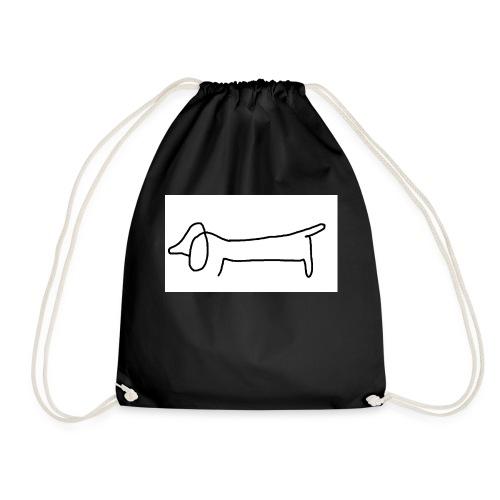 Hund simple - Turnbeutel