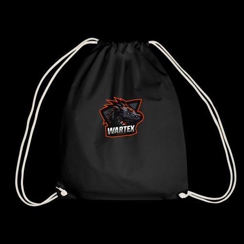 Wartex Logo orange - Turnbeutel