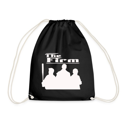 The Firm White Limited Edition - Drawstring Bag