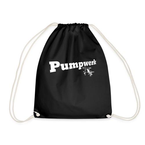 Pumpwerk bench white - Turnbeutel