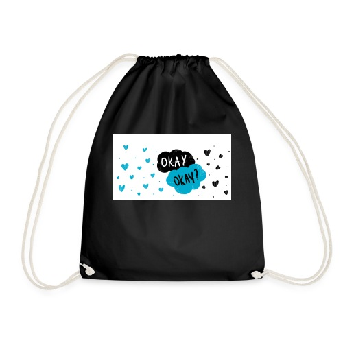the fault in us - Drawstring Bag