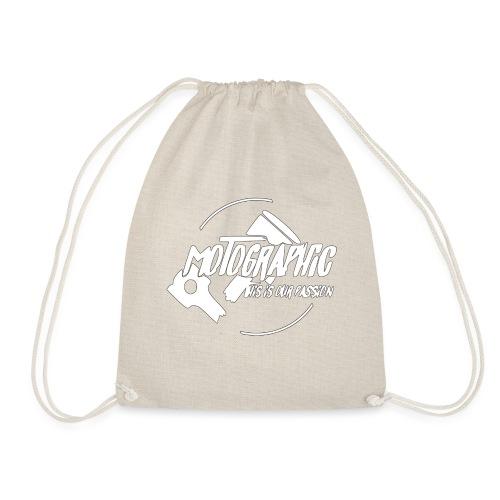 Gymtas - wit,witte doek,witten,witbier,Witte Huis,witte wijn,logopedist,with full force,logo,wit konijntje,Wit-Rusland