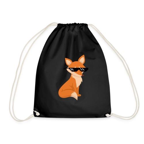 Gamer Fox - Drawstring Bag