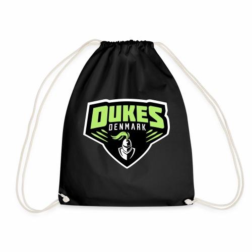 DukesDenmark 2017 hættetrøje sort/hvid logo - Sportstaske