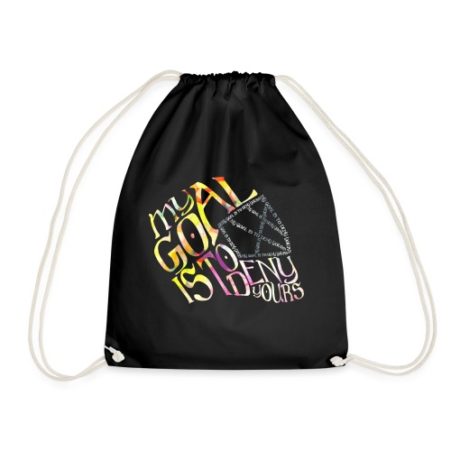 Hockey Goalie Quote - Drawstring Bag