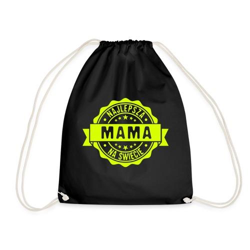 Najlepsza Mama na świecie pieczęć stempel - Worek gimnastyczny