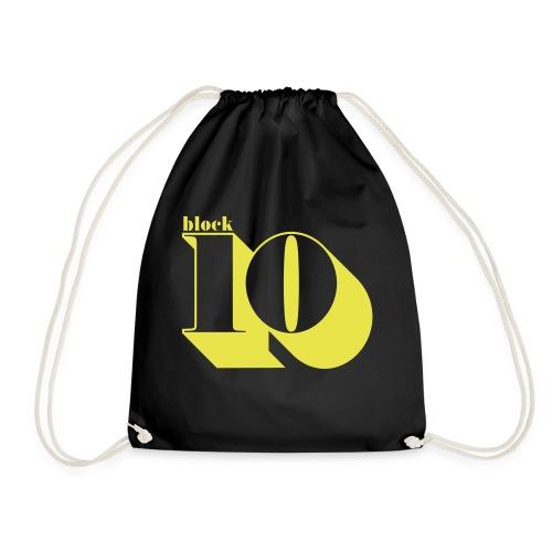 block10 - retro edition - Turnbeutel