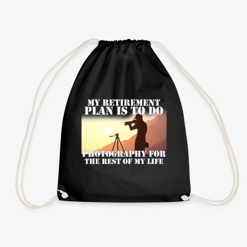 Retired Photographer - Drawstring Bag
