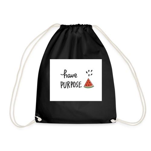 Purpose - Drawstring Bag