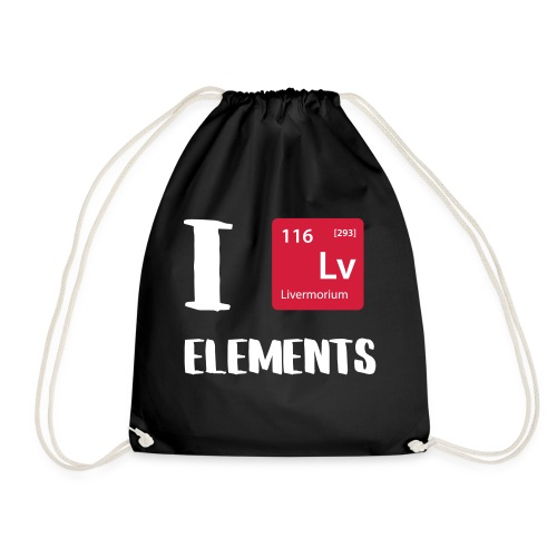 I love Elements - Turnbeutel