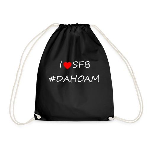 I ❤️ SFB #DAHOAM - Turnbeutel