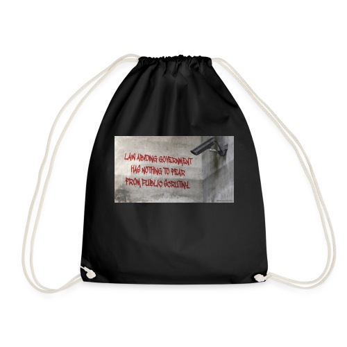 Nothing to Fear - Drawstring Bag