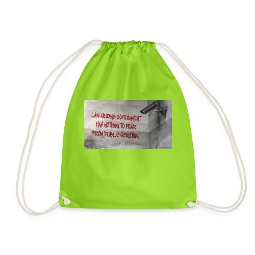 Nothing to Fear - Drawstring Bag