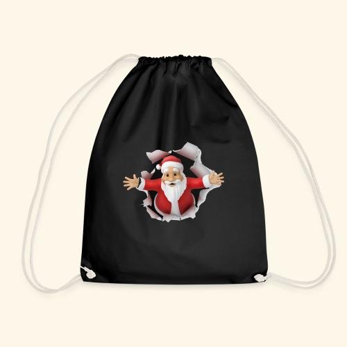 Santa Suprise - Drawstring Bag