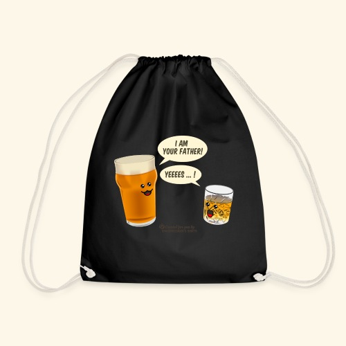 Bier & Whisky Spruch I am your father - Turnbeutel