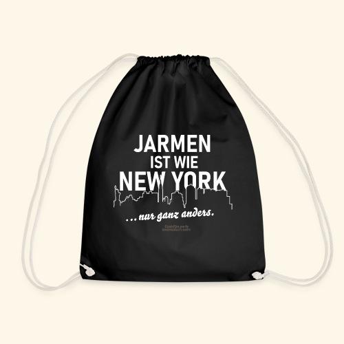 Jarmen 😁 ist wie New York ... nur ganz anders - Turnbeutel
