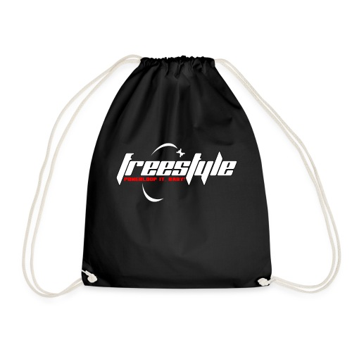 Freestyle - Powerlooping, baby! - Drawstring Bag