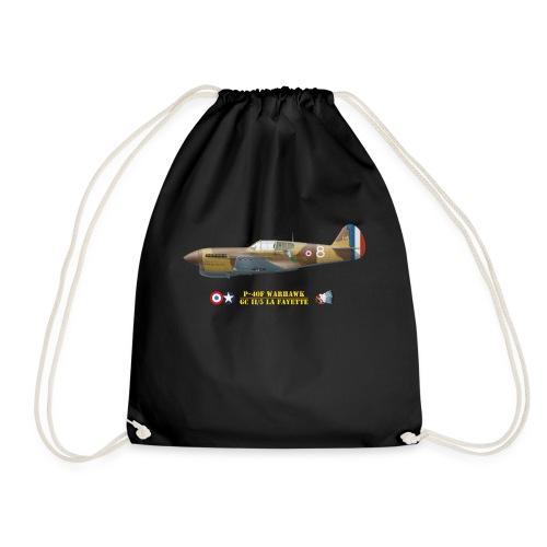 P-40 Warhawk La Fayette - Drawstring Bag