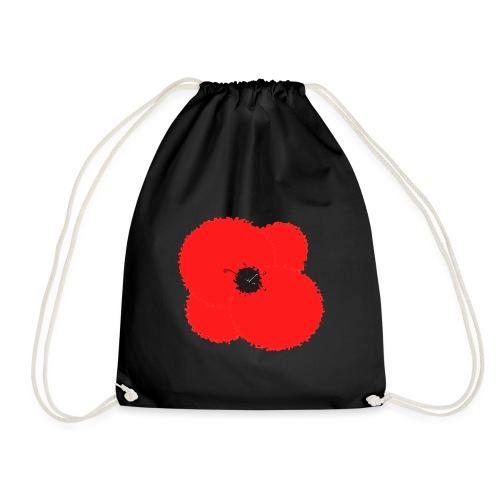 Poppy flower - Mochila saco