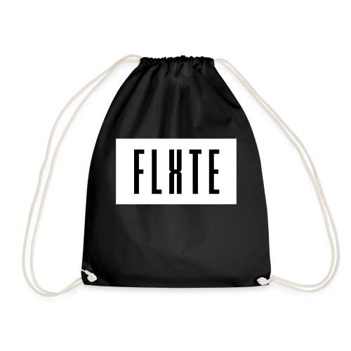 FLxTE logo - Turnbeutel
