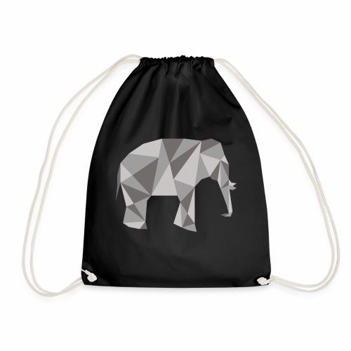 elephant géométrique - Sac de sport léger