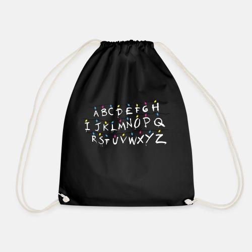 Stranger Things Alphabet - Drawstring Bag