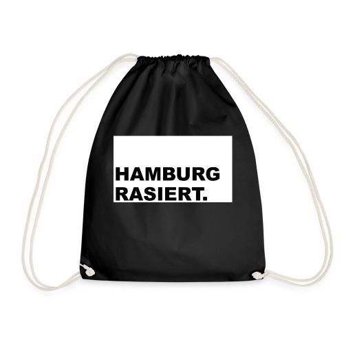 Hamburg rasiert - Turnbeutel