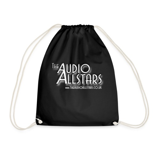 The Audio Allstars logo white - Drawstring Bag