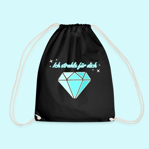Diamant - ich starhle für dich - Turnbeutel