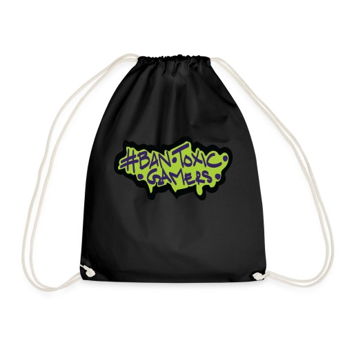 Ban toxic gamers TAG - Drawstring Bag