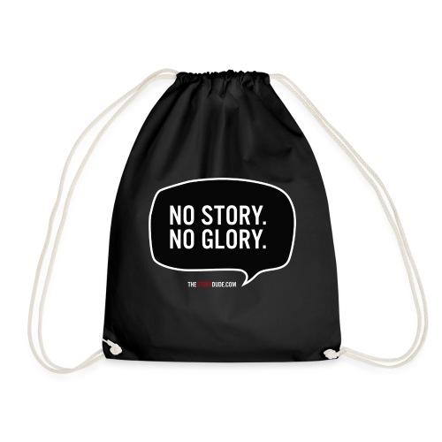 No Story. No Glory. Sprechblase - Turnbeutel