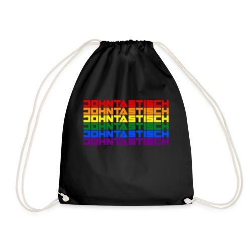 Rainbow Flag Johntastisch - Turnbeutel