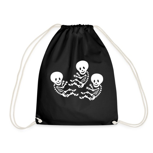 m triplets - Drawstring Bag