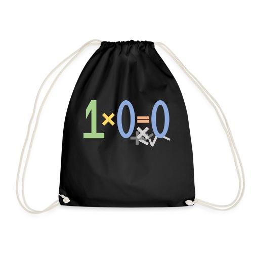 0 times something gives 0 - Drawstring Bag