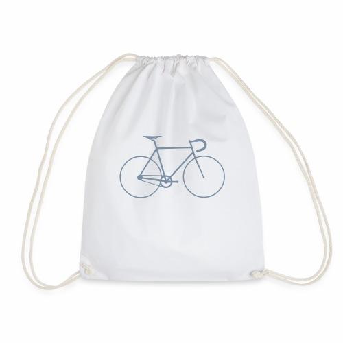 Vintage Racing Bike Retro Cycle - Drawstring Bag