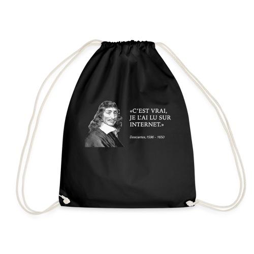 C'est vrai je l'ai lu sur internet - Drawstring Bag