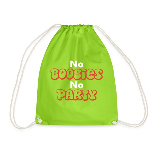 No Boobies No Party - Turnbeutel