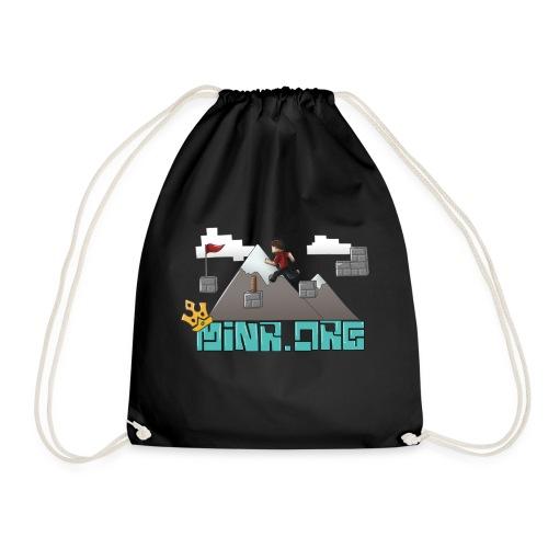 Minr.org Logo - Drawstring Bag